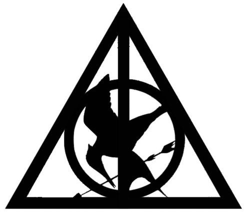 always, black, harry potter and hunger games