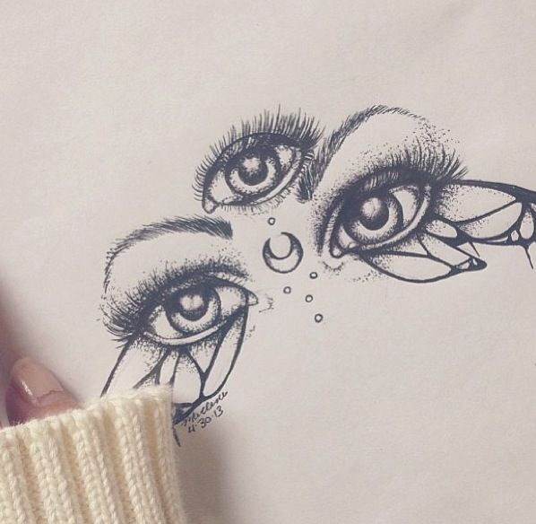 Eyes Image 1782335 By Saaabrina On Favimcom
