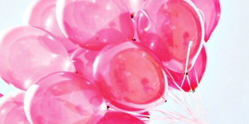 Cute balloon header image by saaabrina on favim