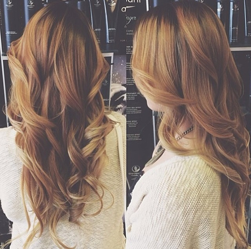one length hairstyles : ombre hair - via Tumblr - image #1819397 by marky on Favim.com