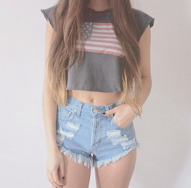 american flag, boutique, couple, crop top, cute, fashion, forever21, girl, graphic tee, hair, high waisted shorts, hipster, hot, love, model, ombre, outfit, pacsun, romance, spring, style, summer, tumblr, usa, vintage, vogue, H&M