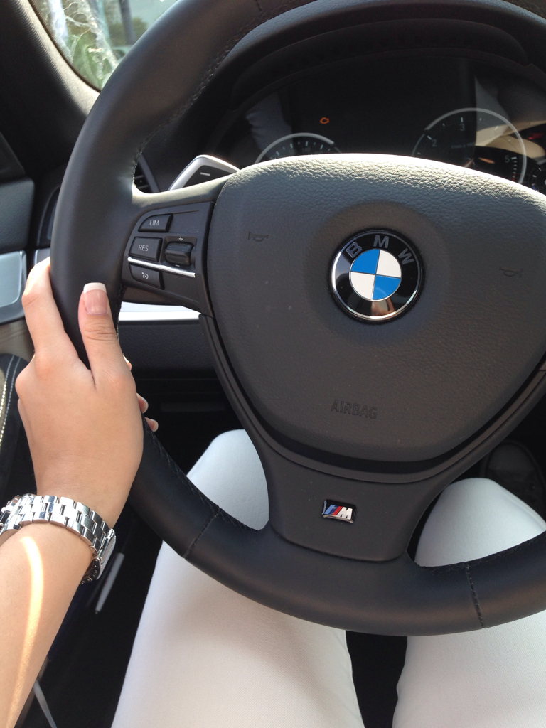 blond, bmw, brown and car