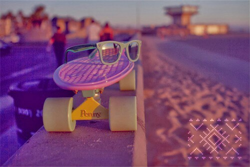 Penny board summer - image #1953807 by Maria_D on Favim.com
