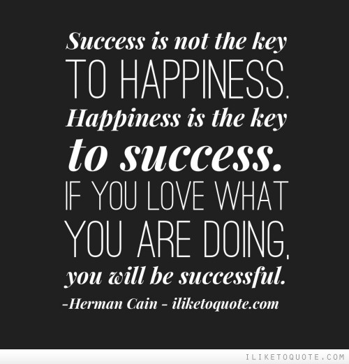 Essay on happiness and success