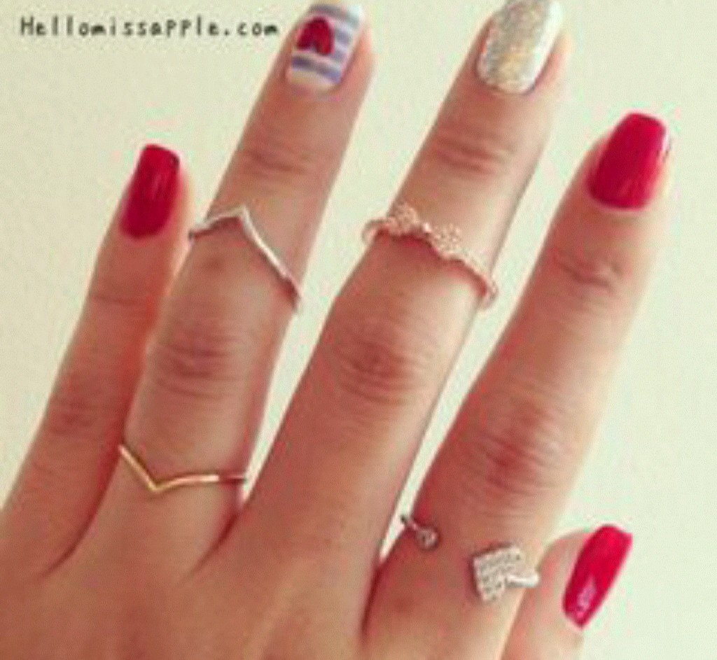 amazing nails, beautiful rings, beauty and cool