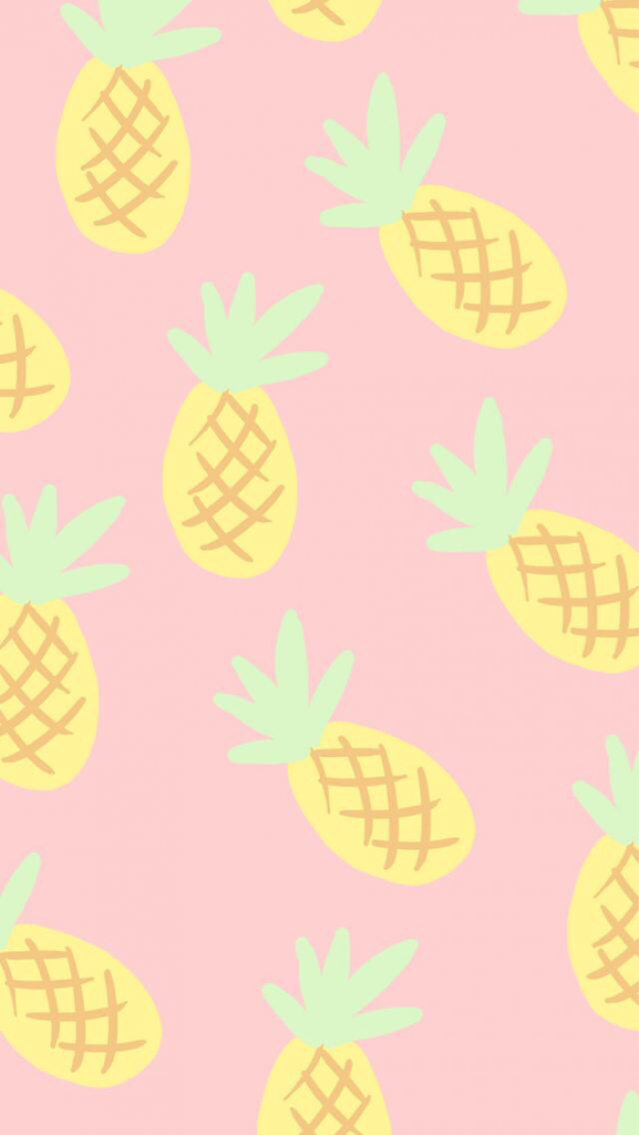 Cute Fruit Wallpaper pink - image #2025377 ...