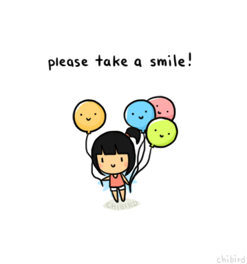 Image result for a smiling cartoon girl tumblr