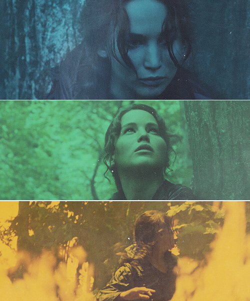 catching fire, hunger games, jennifer lawrence and mocking jay