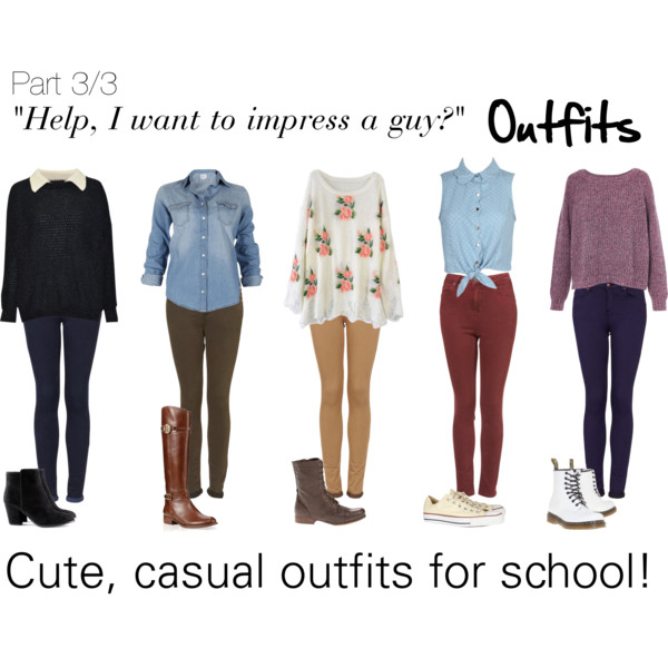 Cute Clothing Styles For School clothes fashion outfits