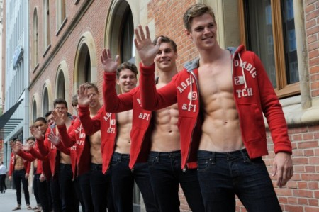 abs, boys, hommes, men, red, rouge, garcons, abercrombie & fitch
