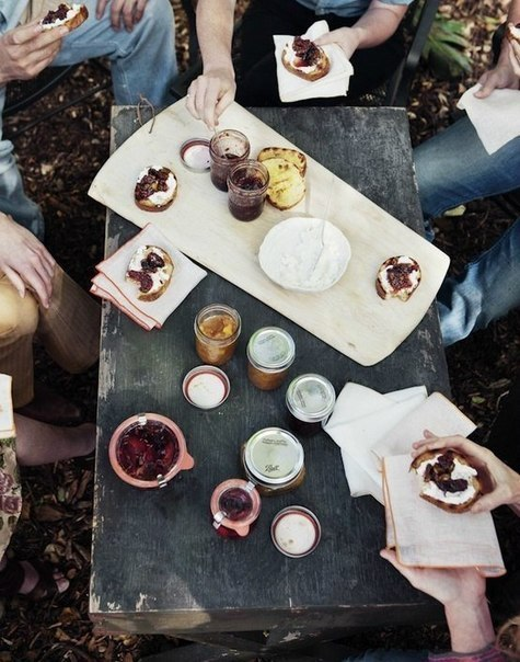 autumn, food, hipster and jam