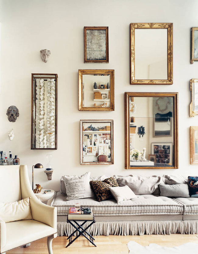 architecture, desing, interior and mirrors