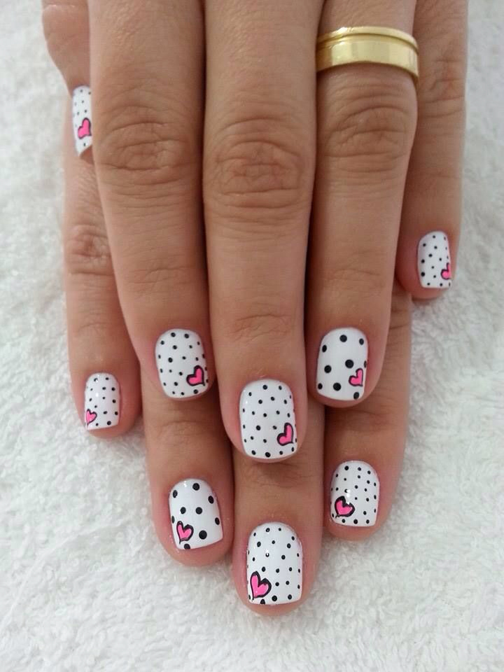 beautiful, cute, dots and fashion