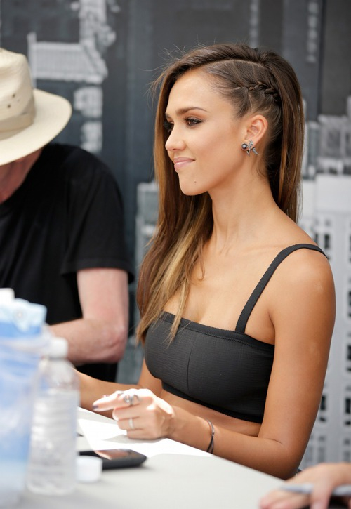 cool, cute, fashion, for girls, hair, hairstyles, jessica alba