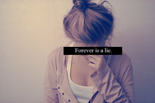 bun, cry, forever, girl, grunge, heartbreak, hurt, lie, life, love