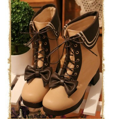 boots, lolita boots, winter boots and cute boots