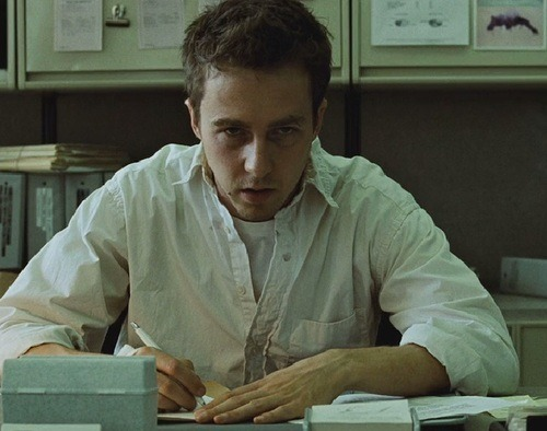 Edward Nortong in Fight Club