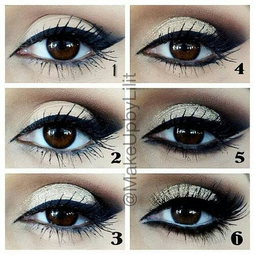 black, black eyes, diy and do it yourself