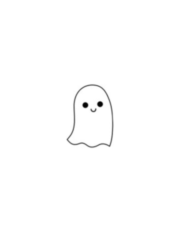 how to draw a halloween ghost