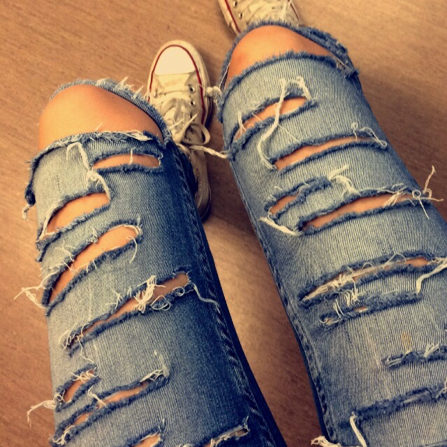 Jeans and converse outfit tumblr