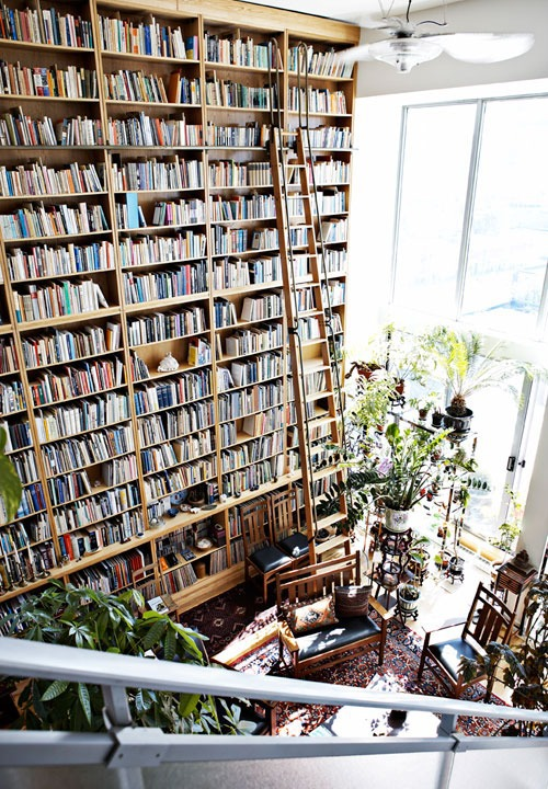 Untitled image 2255225 by taraa on for Cool home libraries