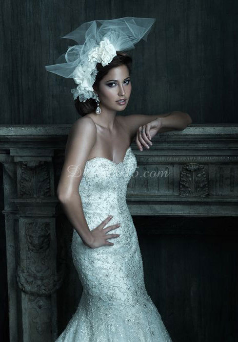 bridal dress, embroidery, fashion and lace