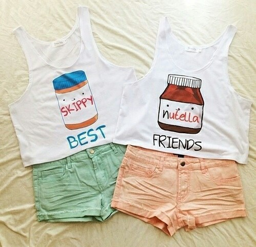 beautiful, best, besties, clothes, cute, friends, friendship, girls, outfits, sexy, summer, sweet