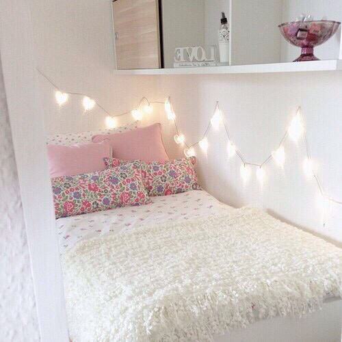Pretty teenagers love girly tumblr pink girls decor for Cute diy bedroom ideas