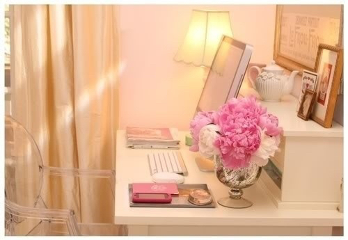 Apple Decor Design Desk Flowers Girly Home Home Decor House House De