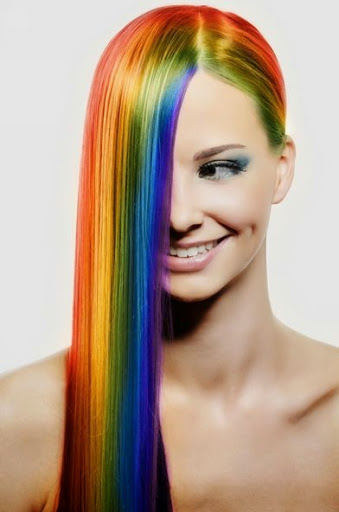 40 Beautiful Colorful Hairstyles Ideas For Women Fashionwtf Image 2366435 On Favim Com