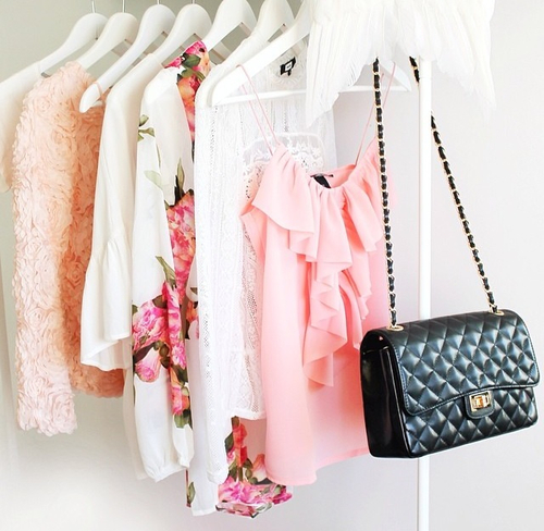 accessories, bag, blouses, chic, clothes, fashion, outfit, pink, style
