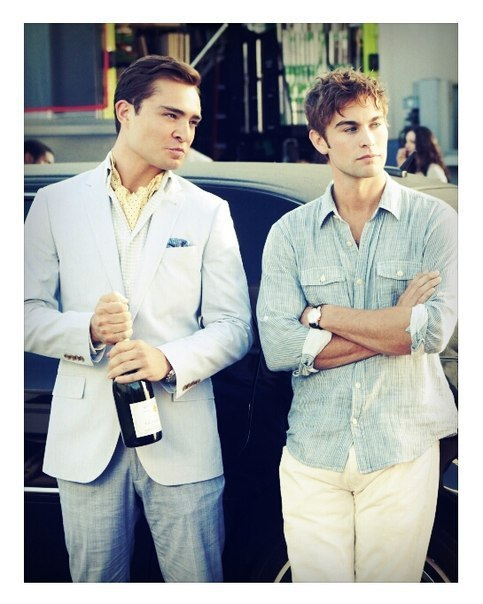 Chuck and Nate - image #2426015 by LADY.D on Favim.com