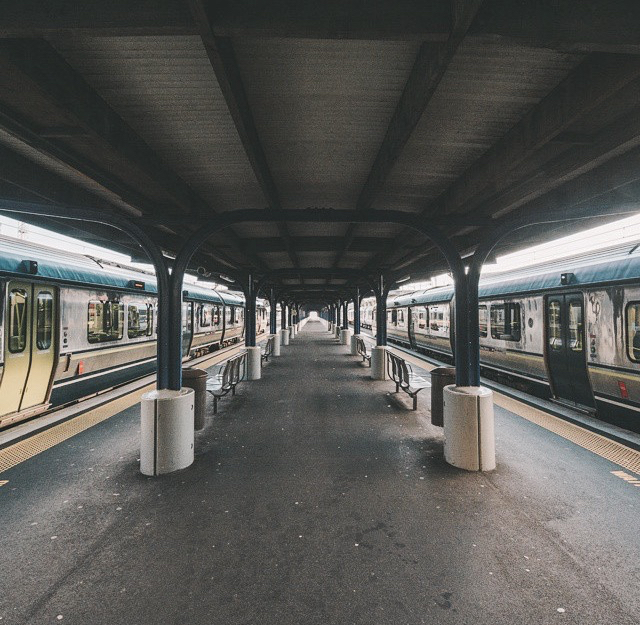 around, forever, grunge, infinity, live, photography, picture, station, train, train station, travel, vintage, world, young