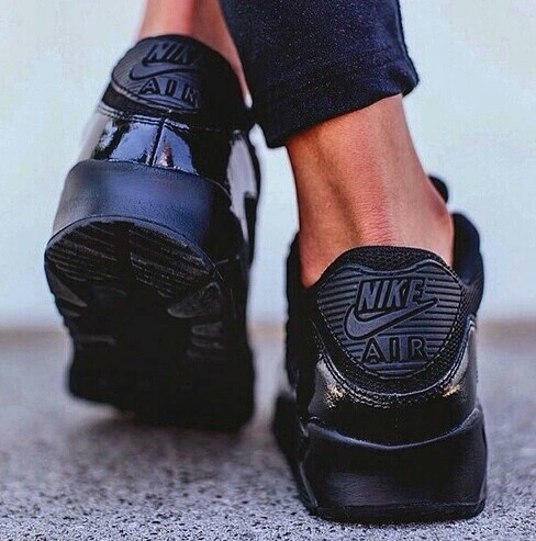 Nike Air Max 90 Black And White Tumblr