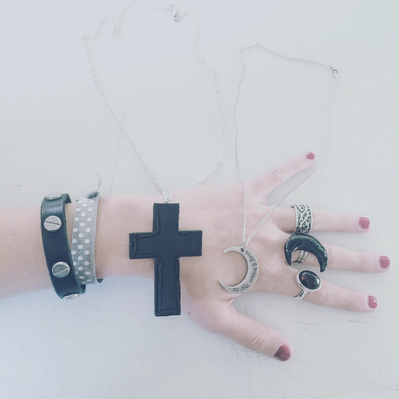 accessories, black, creepy, creepycute, emo, fashion, goth, gothic, grunge, harajuku, jewellery, kawaii, mage, mystic, nails, pale, silver, urban, witchy, nugoth, palegrunge