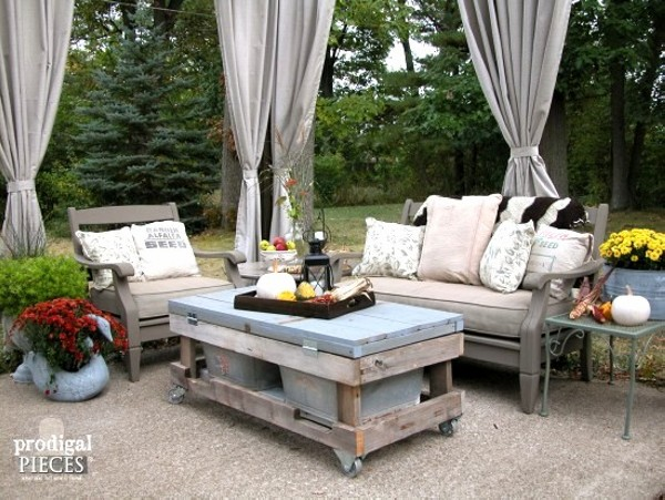 Upcycled Unique Patio Furniture Ideas Recycled Things image by R