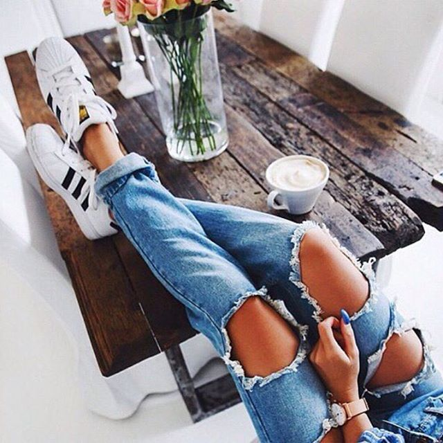 adidas, fashion, jeans and style