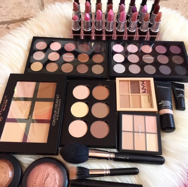 beauty, collection, cosmetics and goals