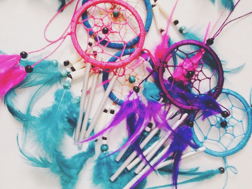 background, beautiful, blue, catcher, colorful, dream, dreamcatcher, feather, pastel, photography, pink, things, tumblr, wallpaper, purwokerto
