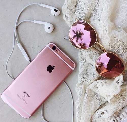 amazing, apple, beautiful, california, cool, crimson, cute, earphones, fashion, favorites, girly, headphones, hipster, indie, luxury, music, nice, photography, pink, pinkish, pretty, rose gold, style, summer, sunglasses, vintage, iphone 6s