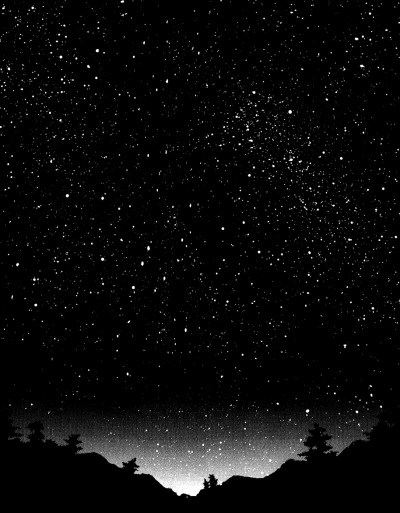 background, beautiful, black and white, celestial, dark, darkness, earth, fantasy, forest, galaxy, horizon, light, mist, misty, nature, night, peace, peaceful, relax, safe, serene, serenity, shine, sky, stars, trees, universe, wallpaper, wild, woods