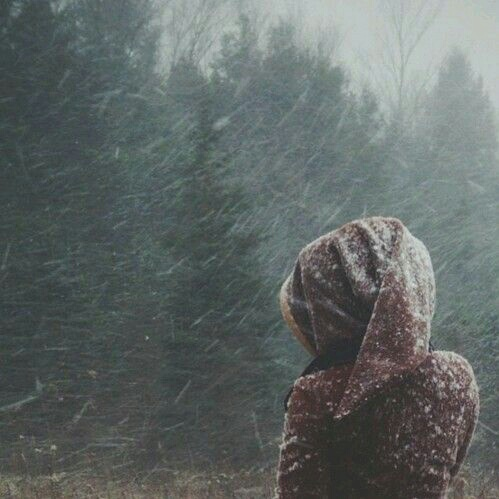 cold, cozy, girl, girls, inspiration, nature, snow, winter