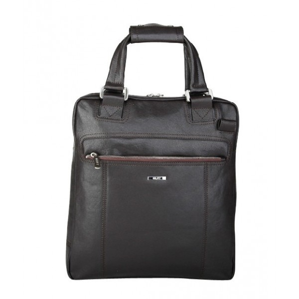 2012 fashion slim men business black leather handbag online sale