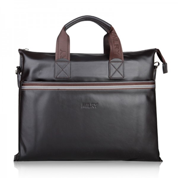 2012 new style men leather coffee business briefcase