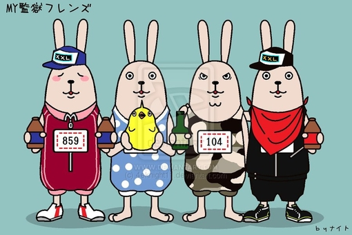 The rabbit friends by ~4eknight11 on deviantART -- TOPIT.ME 收录优美图片