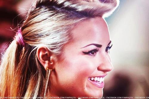 beautiful, demi lovato, eyes, girl, hair, love, smile