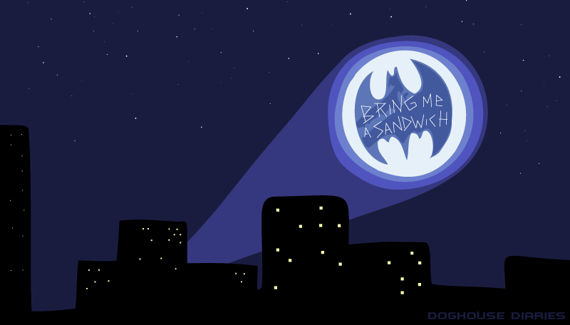 DOGHOUSE | Dammit, Who Let Jim Near The Bat-Signal?!