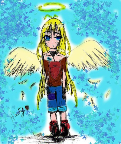 angel, anime, art, girl