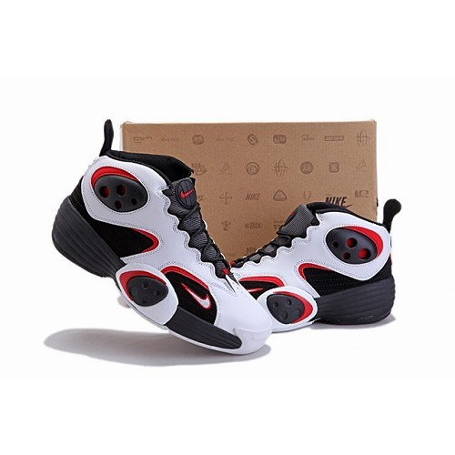 Nice Nike Flight One NRG Men White Black Red Basketball Shoes 1004 US$ 70.00 - Cheap Sale : Basketball-Mall