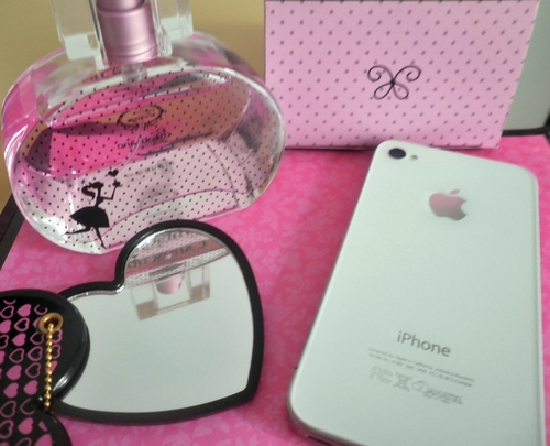 apple, cute, fashion, glamour, pink